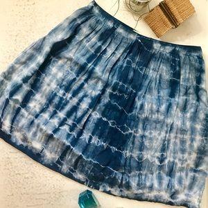 Boho Tie-Dyed Skirt